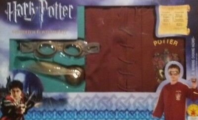 Official Harry Potter Quidditch Fancy Dress Up Costume Outfit Rubies Brand New