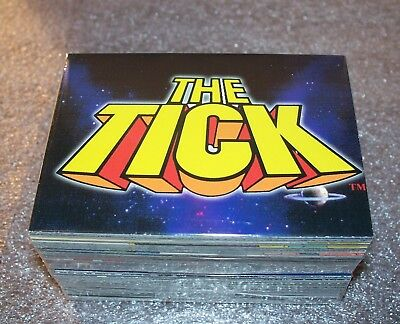 THE TICK Animated trading card set  Comic Images