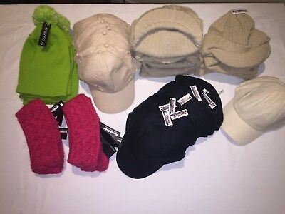 CLEARANCE Resale Opportunity Assorted headwear lot. Items x 67 . AC10.