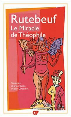 Le Miracle De Theophile by Rutebeuf Hardback Book The Cheap Fast Free Post