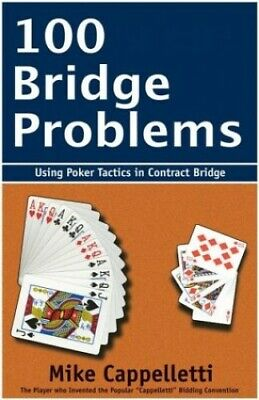 100 Bridge Problems by Cappelletti, Mike Paperback Book The Cheap Fast Free Post