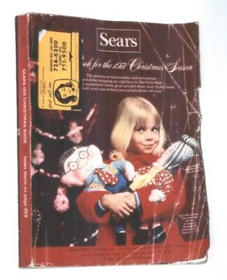Vintage 1971 Sears Wish Book Christmas Catalog