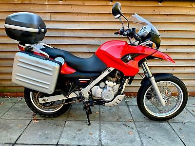 2006 Bmw F650 Gs Abs Red - Full Luggage - Spares Repair