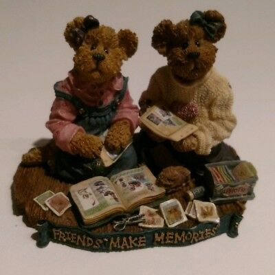 Boyds Bears and Friends The Bearstone Collection Friends Making Memories