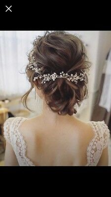 Brand New Wedding Bridal Hair Vine 0.99c Start with No Reserve!
