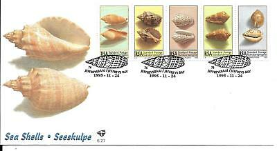 South Africa 1995 Sea Shells FDC