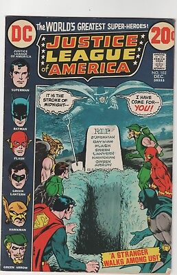 Justice League Of America # 103**a Stranger Walks Among Us**1972** Fine
