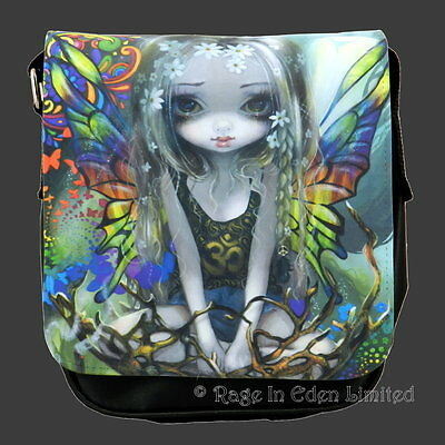 *PAISLEY* Strangeling Hippie Fairy Art Shoulder Bag By Jasmine Becket-Griffith
