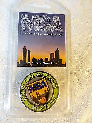 NEW!! Museum Store Assn. 2016 Trade Show Coin Atlanta