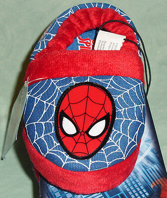 Marvel Ultimate Spider-Man Slippers Toddler Boys 5/6 New NWT