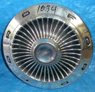RF1034 1950's 1960's 1970's Ford Hubcap Dog Dish