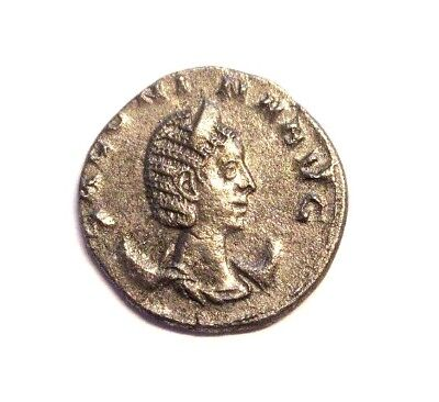 Billon-Antoninian of Salonina      Rv. Juno standing left