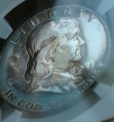 1951 Franklin Half Dollar - NGC Certified PF 65 - Nicely Toned - No Reserve!!