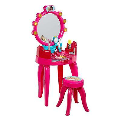 Barbie 5327 Beauty Studio Vanity Dressing Table with Stool & Accessories A