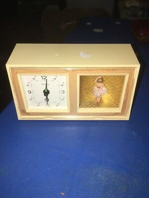 Musical Alarm clock TV ballerina by Blessing West Germany