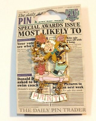 Disney Pin Trading Alice in Wonderland Mad Hatter Life of The Party PTU 2008