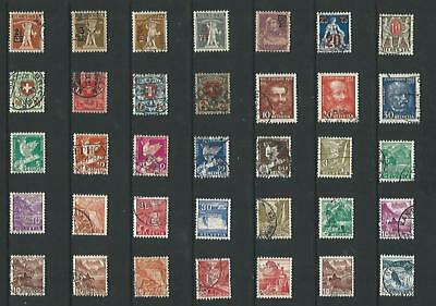 y6465 Switzerland / A Small Collection  Early & Modern Used