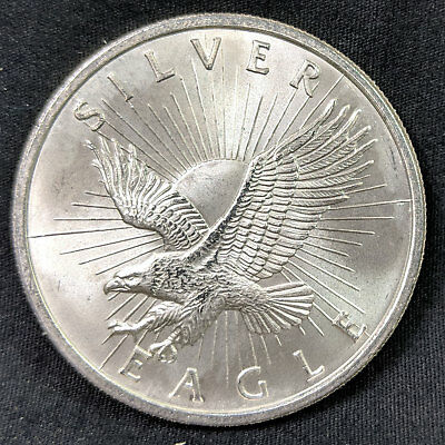 Silver Eagle Sunshine Minting One Troy Ounce .999 Fine Silver Bullion