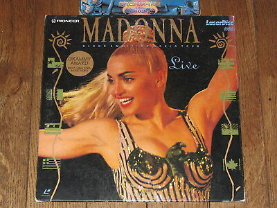 LASERDISC musical / MADONNA blond ambition world tour live 1990 / LD laser disc