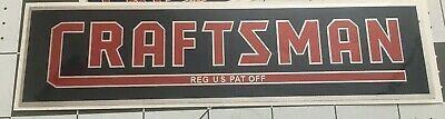 """Craftsman Tool decal one 6 1/2"""" &  One 4"""" 1938 vintage style decal 2 For 1"""