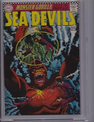 SEA DEVILS #30 CBCS 9.2 NM-, white pages, great gorilla washtone cover, like CGC