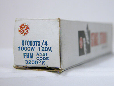 New GE FHM 1000W 120V  Bulb USA Made General Electric Free USA Shipping!