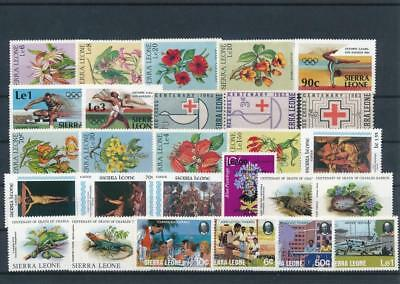 [G129275] Sierra Leone good lot of stamps very fine MNH