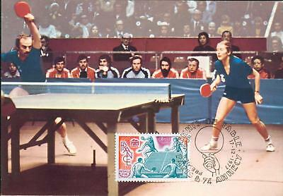 France Michel Nr. 2060 MK Tischtennis table tennis gh33