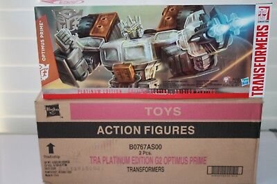 Transformers Collection Platinum Edition G2 Laser Optimus Prime 2015 Goat Year H