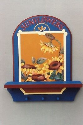 "Ronnie Bringle vintage tole painting pattern ""Sunflowers"""