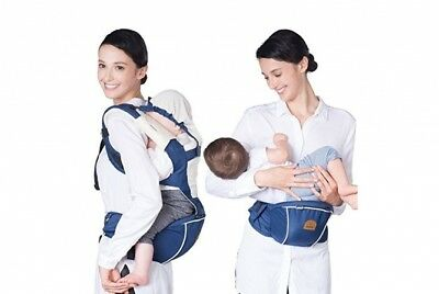Bebear Bebamour Baby Carrier Sling 2 In 1 Hip Seat Head Cover