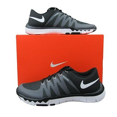 a76876b79e4a Nike Free Trainer 5.0 V6 Running Training Shoes Black Grey 719922 010 Mens  Size