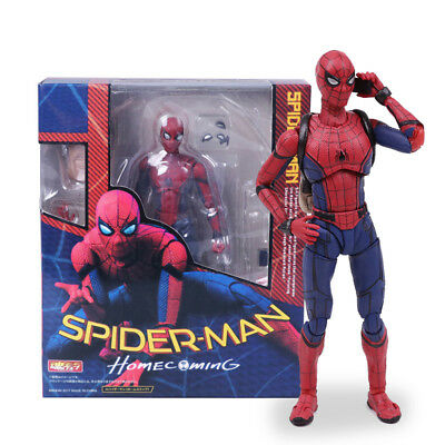 XMAS Gift for Kids Spider Man Homecoming Spiderman PVC Action Figure Model Toy