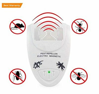 Ultrasonic Pest Repeller, Emwel Home Indoor Pest Control Extra Effective Plug In