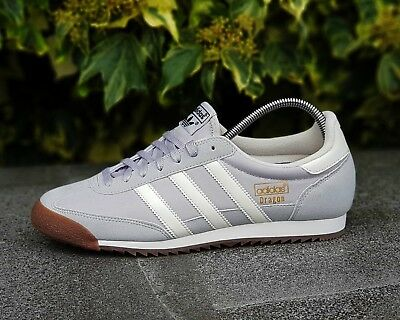 brand new 3243a ddcc4 BNWB   Authentic Adidas originals Dragon OG ® Grey White Trainers UK Size 12