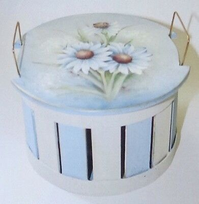 "Mary Wiseman tole painting pattern ""Daisy Potpourri Basket"""