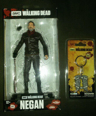 The Walking Dead TV Version Color Tops Actionfigur Negan 18 + Schlüsselanhänger