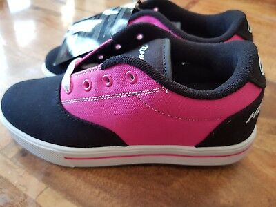 Heelys Launch girls shoes, pink and black, US youth 5