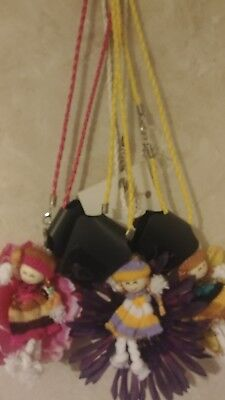 lot of 3 new girls doll flower nevklaces necklace