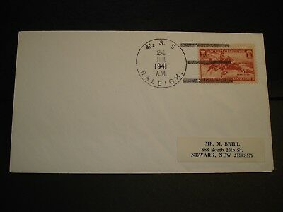 USS RALEIGH CL-7 Naval Cover 1941 Cruiser