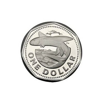 elf Barbados Dollar 1979 FM Proof Flying Fish  only 4,126 minted