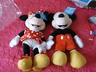Disney On Ice Mickey And Minnie Mouse BNWT