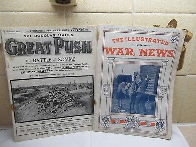 The War Illustrated pt.80.Dec.19th 1917/Great Push The Battle of the Somme Jan.1