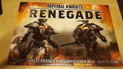 Warhammer 40k Imperial Knights Renegade Grundbox Starter Set Deutsch Neu & OVP