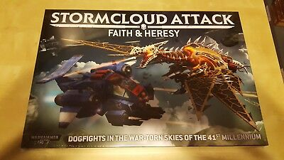Warhammer 40k Stormcloud Attack Faith & Heresy Englisch Neu & OVP