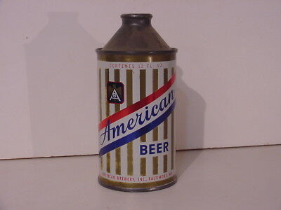 American Beer Cone Top Can Baltimore Md Maryland Non Irtp