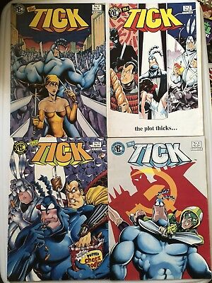 The Tick Comic Book Issues 3, 4, 5, 6