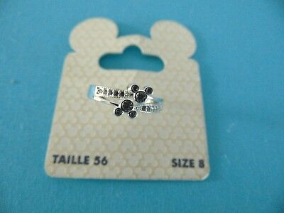 Mickey Mouse Ring Size 8 Silver Coloured BNWT Box11