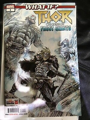 Brand new marvel comics what if THOR  #1 Adults one shot 2018 frost giants