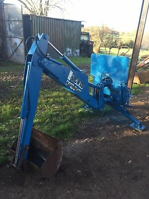 Lewis Landlord 200 Backactor Backhoe Minidigger Digger Compact Tractor